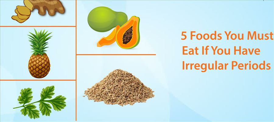Do you have Irregular Periods, Eat this to get Regular one